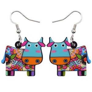 Jewelry - Cute cow Earrings